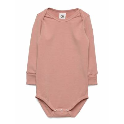 Müsli by Green Cotton Cozy Me Body Bodies Long-sleeved Lyserød Müsli By Green Cotton - Børnetøj - Müsli by Green Cotton