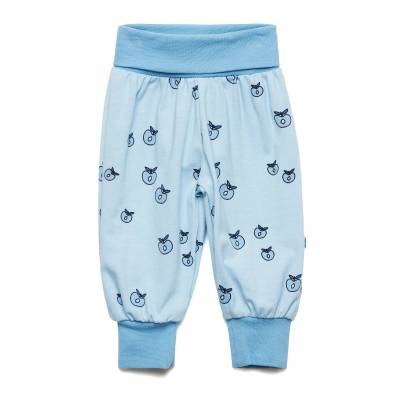 Småfolk Baby Pants Waistband. Apple. Originals. Sweatpants Hyggebukser Blå Småfolk - Børnetøj - Småfolk