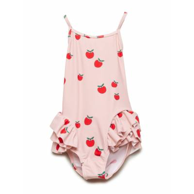Småfolk Swimwear, Suit. Apple Badedragt Badetøj Lyserød Småfolk - Børnetøj - Småfolk