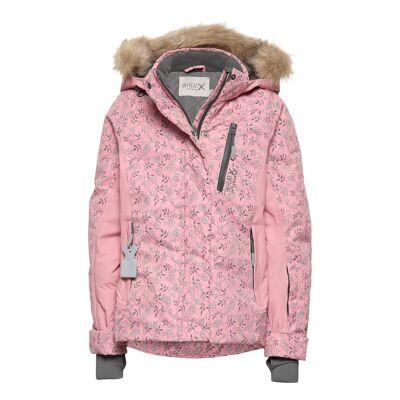 Wheat Ski Jacket Tomine Outerwear Snow/ski Clothing Snow/ski Jacket Lyserød Wheat - Børnetøj - Wheat