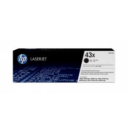 HP 43X BK lasertoner – C8543X  – Sort 30000 sider
