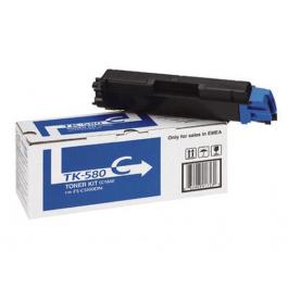 Kyocera TK-580 C lasertoner – 1T02KTCNL0  – Cyan 2800 sider