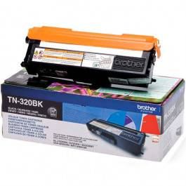 Brother TN320 BK sort Lasertoner,