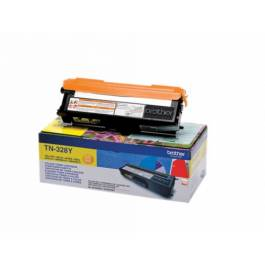 Brother TN328 Y Gul Lasertoner,
