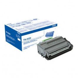 Brother TN 3520 BK lasertoner – TN3520  – Sort 20000 sider