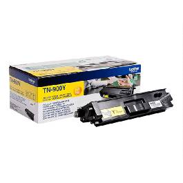 Brother TN 900 combo pack 2 stk lasertoner – TN900YTWIN  – Gul 12000 sider
