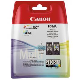 Canon PG-510 black / CL-511 combo pack 2 stk – 2970B010 – 18 ml