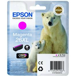 Epson 26XL T2631 PBK – C13T26314012 – Foto Sort 8 ml