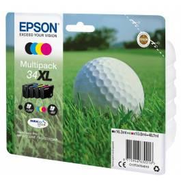 Epson T3476 combo pack 4 stk – C13T34764010 – C/Y/M/K 3950 sider