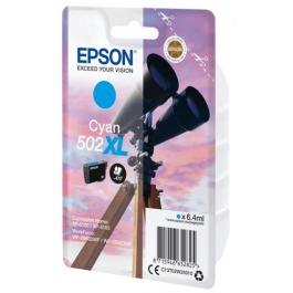 Epson T502 XL C blækpatron – C13T02W24010 – Cyan 6,4 ml