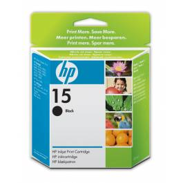 HP 15 BK – C6615DE – Sort 25 ml