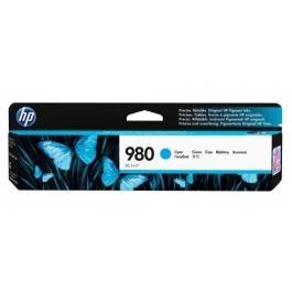 HP 980 C blækpatron Cyan 6600 sider