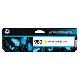 HP 980 Y blækpatron Gul 6600 sider