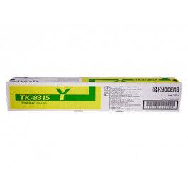 Kyocera TK-8315 Y lasertoner – 1T02MVANL0  – Gul 6000 sider