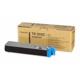 Kyocera TK520 C Lasertoner, Cyan,  4000 sider