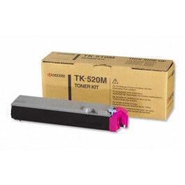 Kyocera TK520 M Lasertoner, Magenta,  4000 sider