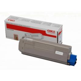 OKI C 610 BK lasertoner – 44315308  – Sort 8000 sider
