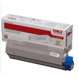 OKI MC 760/770/780 Y lasertoner – 45396301  – Gul 6000 sider