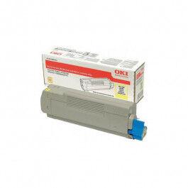 OKI C 833/843 Y lasertoner – 46443101  – Gul 10000 sider