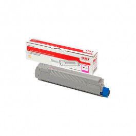 OKI C 833/843 M lasertoner – 46443102  – Magenta 10000 sider