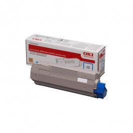 OKI C 833/843 C lasertoner – 46443103  – Cyan 10000 sider