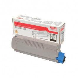 OKI C 833/843 BK lasertoner – 46443104  – Sort 10000 sider