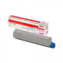OKI C 823/833/843 M lasertoner – 46471102  – Magenta 7000 sider