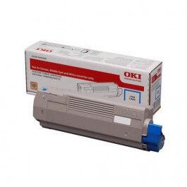 OKI C 823/833/843 C lasertoner – 46471103  – Cyan 7000 sider