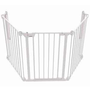 Noma 3-panels sikkerhedslåge Modular metal hvid 94054