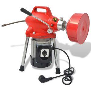 vidaXL rørrensemaskine 250 W 12,5m x 16mm 4,5m x 9,5mm