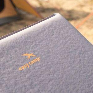 Easy Camp luftmadras Siesta enkeltmands 10 cm grå