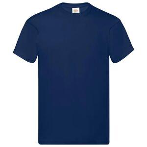 Fruit of the Loom originale T-shirts 10 stk. str. 4XL bomuld marineblå
