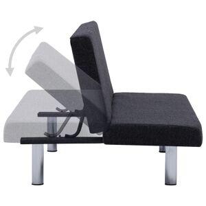 vidaXL sovesofa polyester mørkegrå