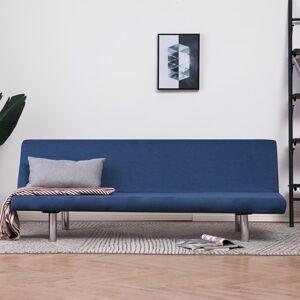 vidaXL sovesofa polyester blå