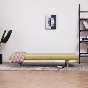 vidaXL sovesofa polyester grøn