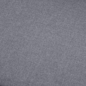 vidaXL 5-personers sofa stof lysegrå
