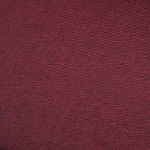 vidaXL 5-personers sofa stof vinrød