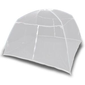 vidaXL campingtelt 200x150x145 cm glasfiber hvid