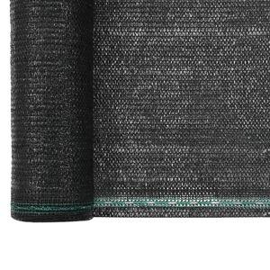 vidaXL tennisskærm HDPE 1 x 100 m sort