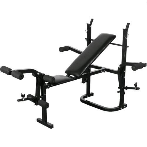 vidaXL Fitness-bænk foldning