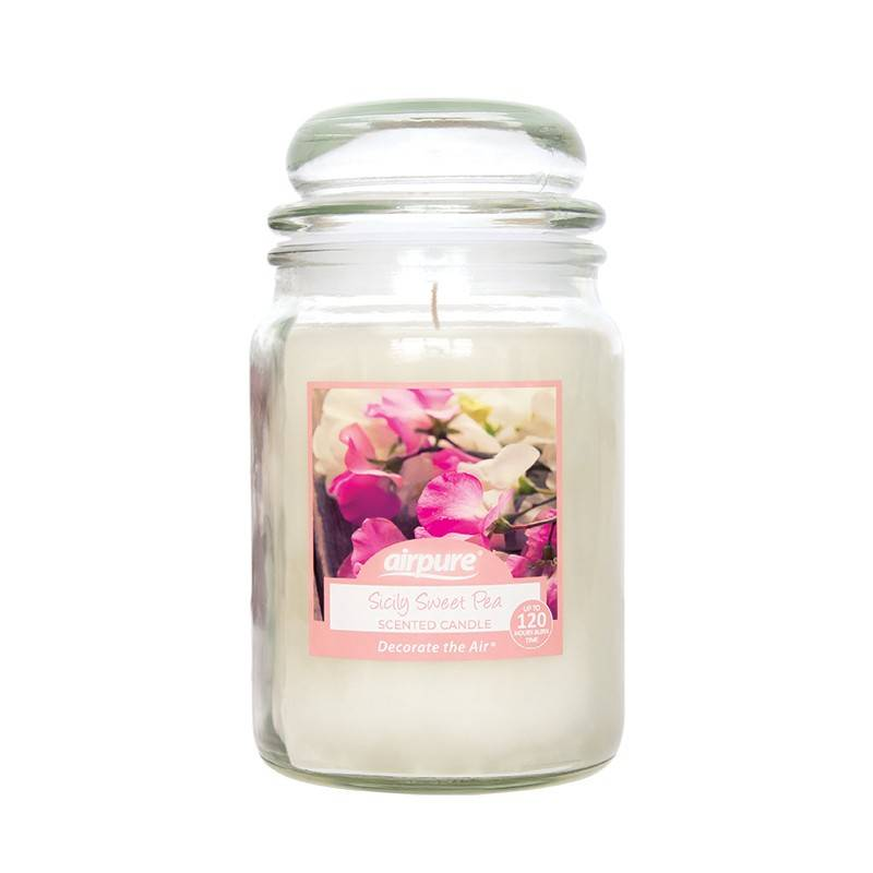 Sicily Sweet Pea Scented Candle 510 g Duftlys