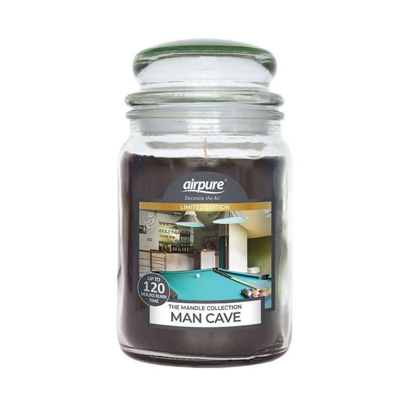 Man Cave Scented Candle 510 g Duftlys