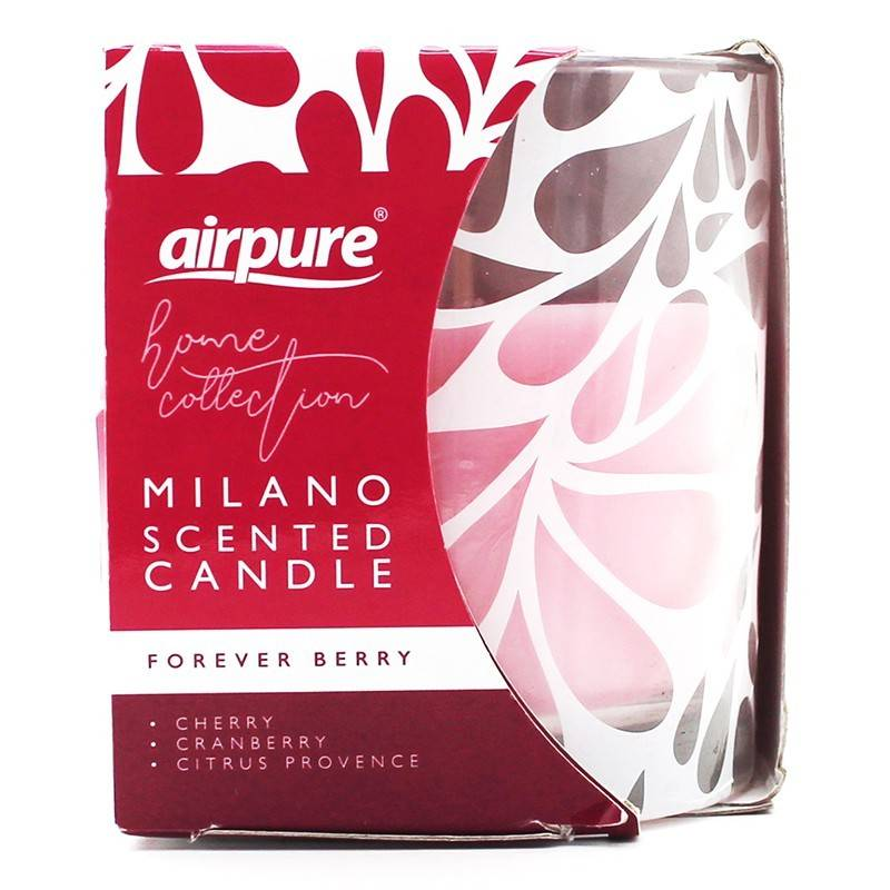 Milano Scented Candle Forever Berry 1 stk Duftlys