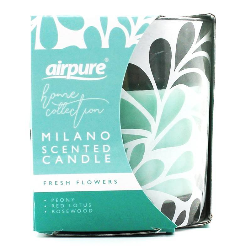 Milano Scented Candle Fresh Flowers 1 stk Duftlys