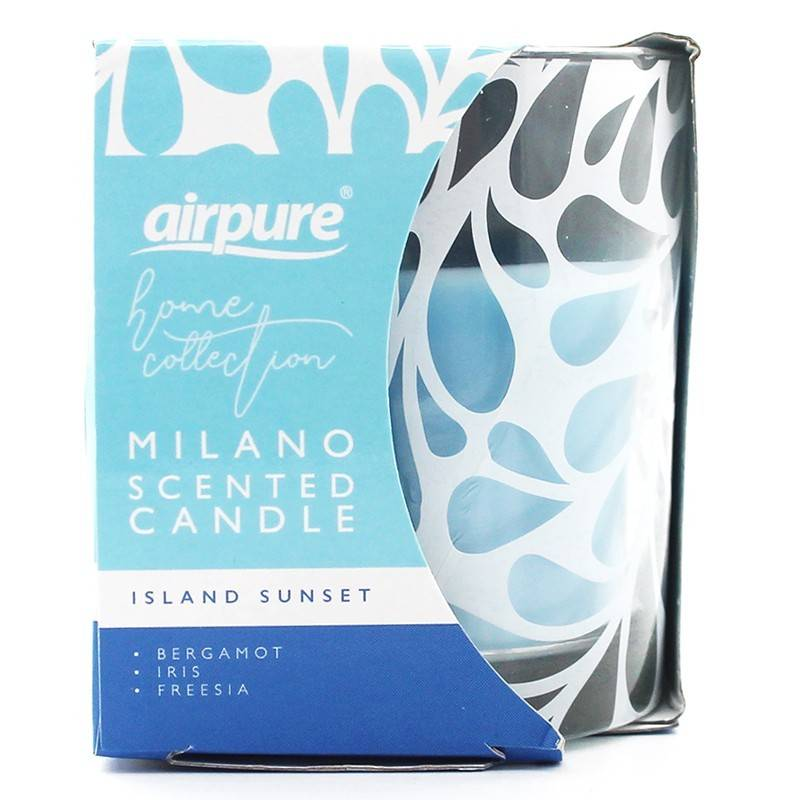 Milano Scented Candle Island Sunset 1 stk Duftlys