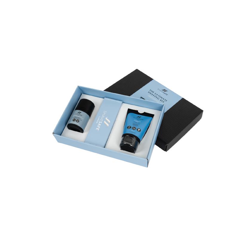 Man The Ultimate Shaving Kit Gift Set 50 ml + 100 ml + 1 stk Gaveæske