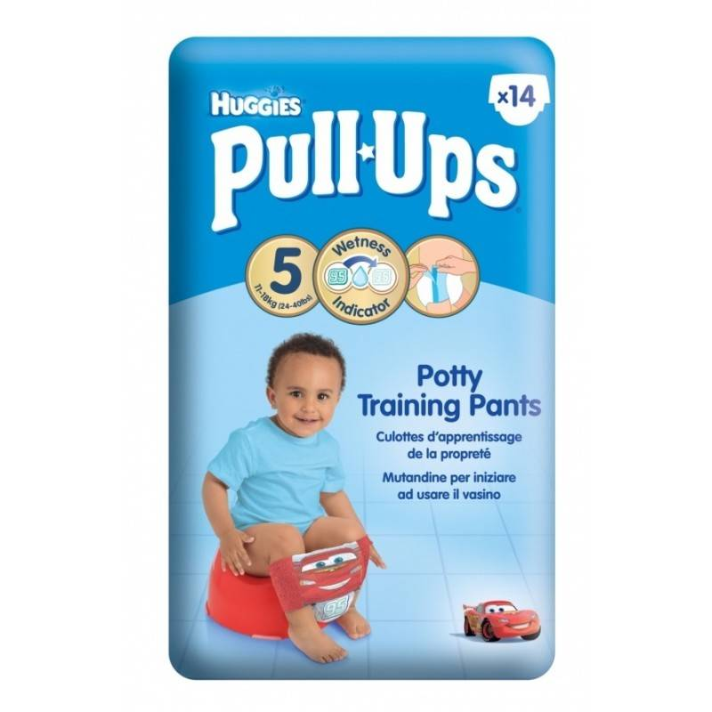 Pull Ups Potty Training Pants Medium 14 stk Ble