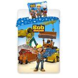 Junior Sengetøj Byggemand Bob 100 cm x 140 cm + 40 cm x 45 cm Sengetøj