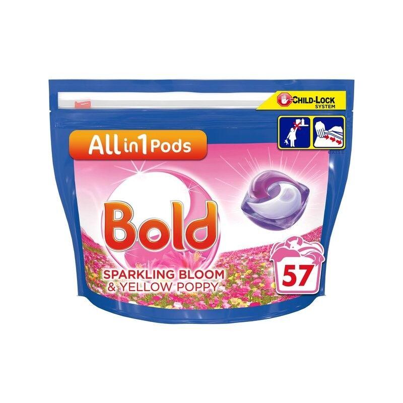 All-In-1 Pods Sparkling Bloom & Yellow Poppy 57 stk Vaskemiddel