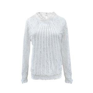 Biell Mynte Blondebluse Hvid Small Tøj